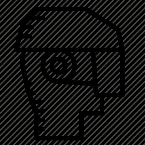 ar, headsets, virtual reality icon