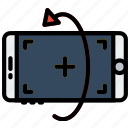 phone, reality, rotate, virtual, vr icon