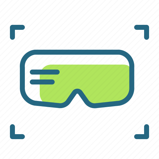 equipment, gaming, glasses, virtual reality goggles icon
