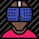 headset, reality, virtual, virtual reality, vr
