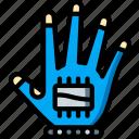 glove, reality, virtual, virtual reality, vr