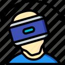 movement, reality, side, virtual, virtual reality, vr