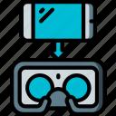 headset, phone, reality, virtual, virtual reality, vr