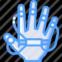 hand, reality, tracking, virtual, virtual reality, vr icon