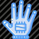 glove, reality, virtual, virtual reality, vr icon