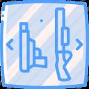 reality, selection, virtual, virtual reality, vr, weapon icon