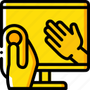 control, gestures, reality, virtual, virtual reality, vr icon