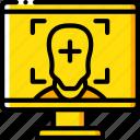face, reality, tracking, virtual, virtual reality, vr icon
