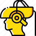 headset, medical, reality, virtual, virtual reality, vr icon