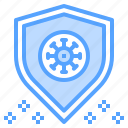 protect, protection, safeguard, shield, virus icon
