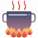 boil, cooking, food, hot