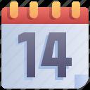 appointment, calendar, days, quarantine