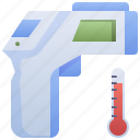 forehead, infrared, temperature, thermometer