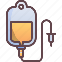 bag, blood, drip, plasma icon