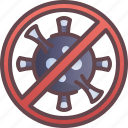 virus, anti, prevention, stop icon