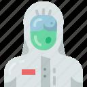 uniform, hospital, ppe, doctor, medical, coronavirus, avatar icon