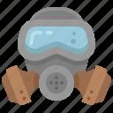 mask, gas, protection, pollution, toxic, coronavirus, safety