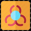 alert, biohazard, danger, warning