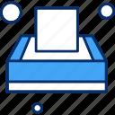 box, napkin, tissue icon