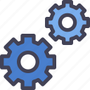 manufacturing, option, setting icon