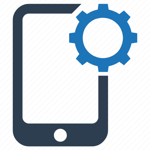 gear, mobile, optimization, settings icon