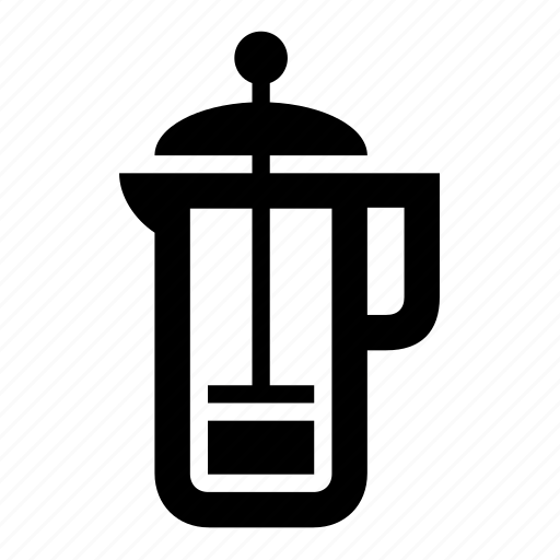 beverages, frenchpress big icon