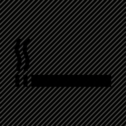 smoking symbol icon