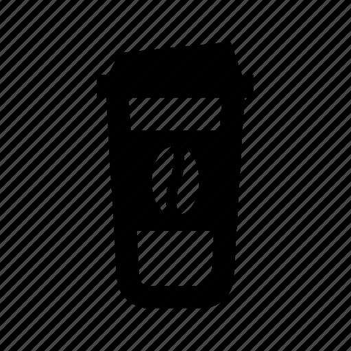 beverage, beverages, coffee, drink, takeaway coffee medium icon