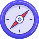 compas, location, map, navigation icon