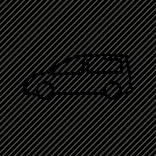 Caddy, car, delivery, van, volkswagen icon - Download on Iconfinder