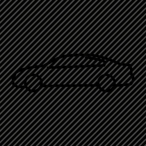 car, passat, sedan, vehicle, volkswagen icon