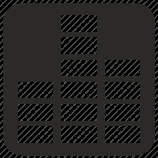 form, levels, music, sound, volume icon