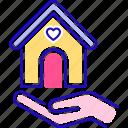 charity, help, homeless, volunteering icon