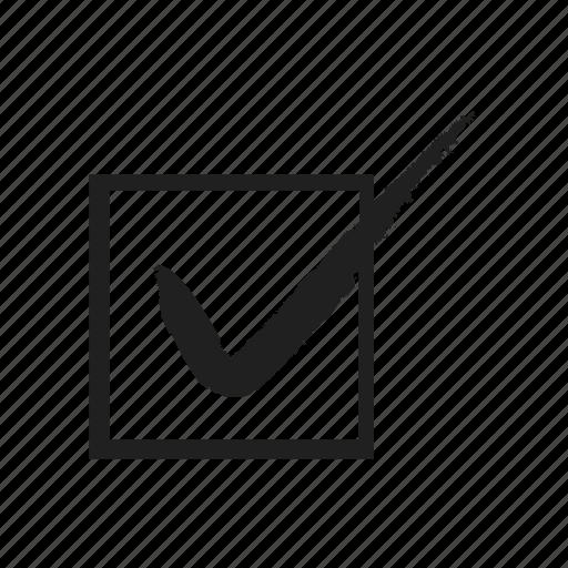 check, check mark, cross, mark, tick, vote, voting icon
