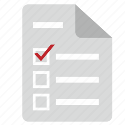 choice, elections, form, individual, list icon