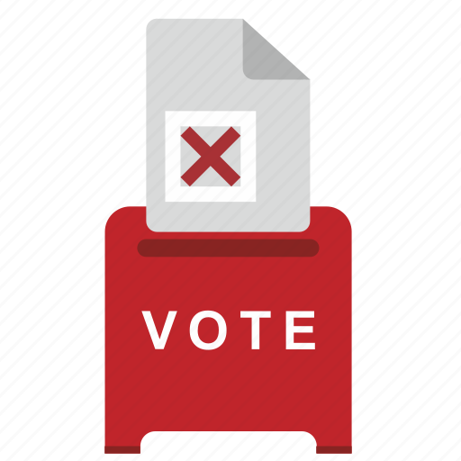 cancel, choice, elections, vote icon