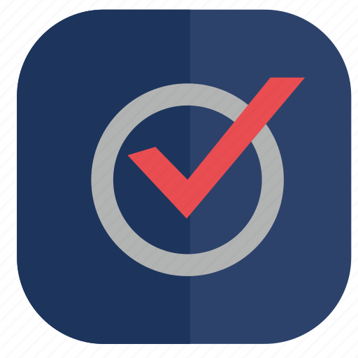 accept, app, choice, election, ok, vote icon