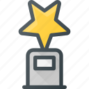 awward, cup, first, reward, star, win icon