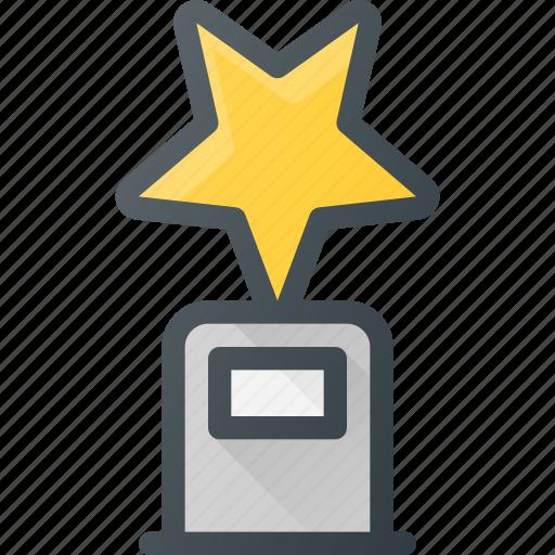 awward, cup, first, reward, star, win icon