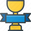 awward, banner, cup, first, place, reward, win icon