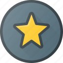 awward, badge, favorit, reward, star icon