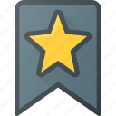 awward, badge, bookmark, favorit, reward, star icon