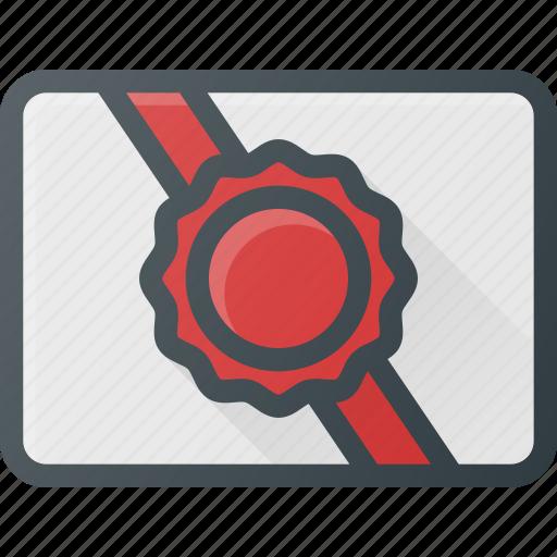 awward, card, gift, reward, voucher icon