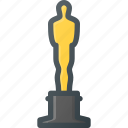 academy, awward, film, movie, oscar, reward icon