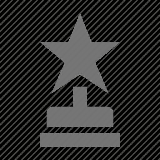 award, prize, reward, star, trophy icon