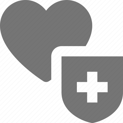 heart, like, secure, security icon