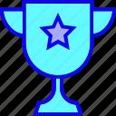 achievement, cup, medal, reward, star, trophy, winner