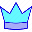 award, crown, king, prince, princess, queen, reward icon