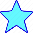 award, badge, favorite, like, medal, reward, star icon