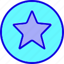 badge, favorite, like, medal, rewards, star, votes icon